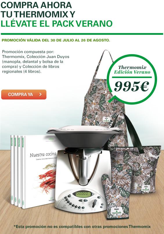 Color en tu cocina con Thermomix® Edición Verano