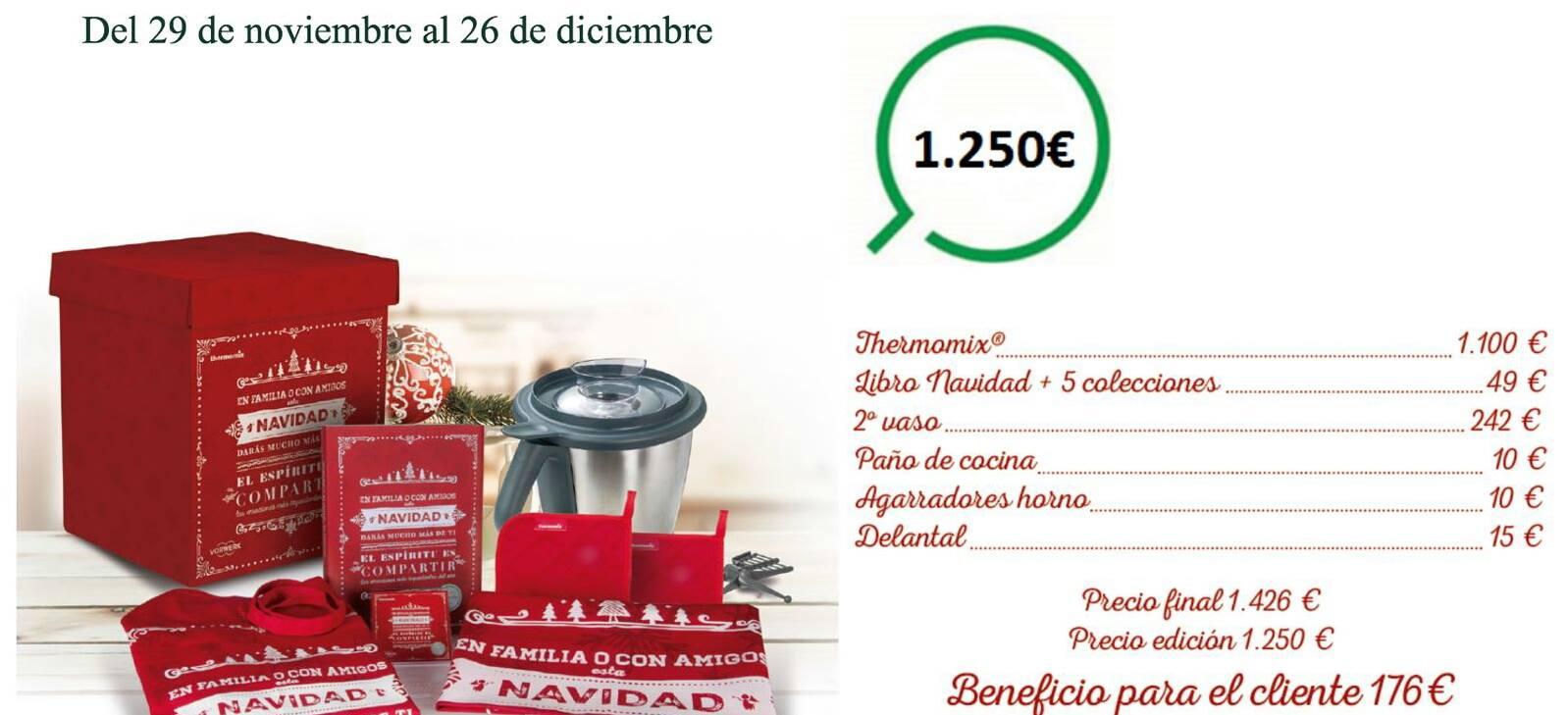 Thermomix® Edición Navidad ¡un verdadero regalo!