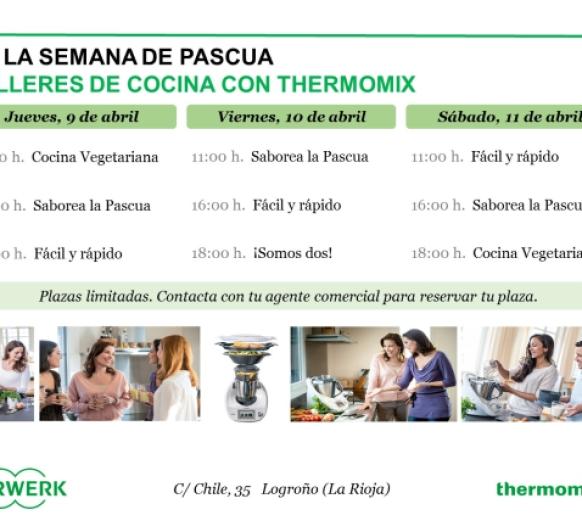 Ven a los talleres especiales de Thermomix® en la semana de pascua