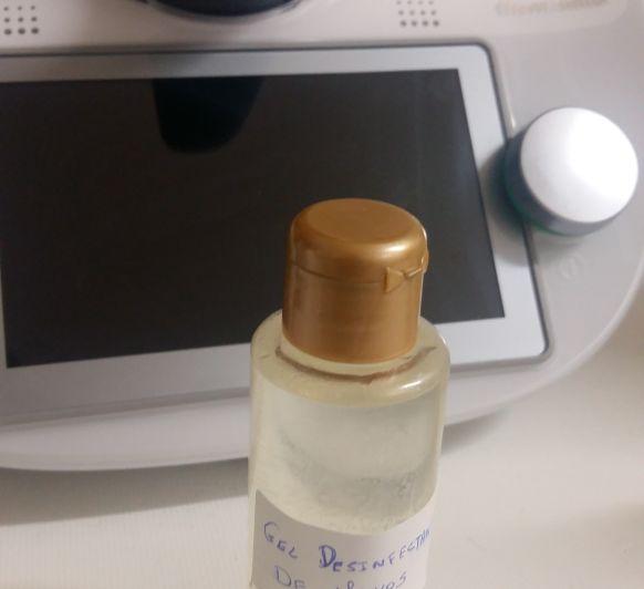 Gel líquido desinfectante de manos