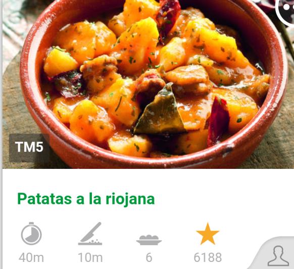 Patatas a la Riojana, receta tradicional.