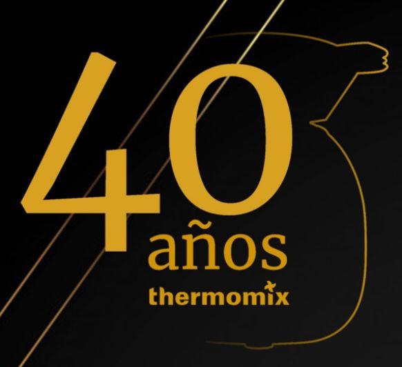 Celebramos el 40 aniversario de Thermomix® en España!!