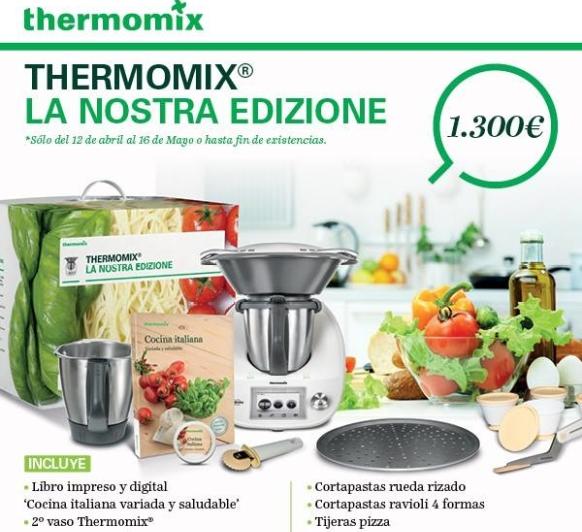 Cocina italiana para todos con Thermomix®