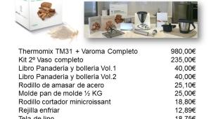 Taller de panaderia con Thermomix®